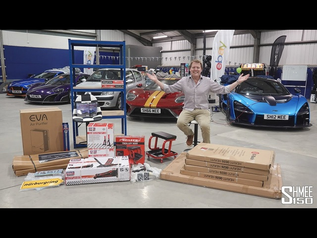 Garage Update, Next Plans and New Supercar COMING SOON!