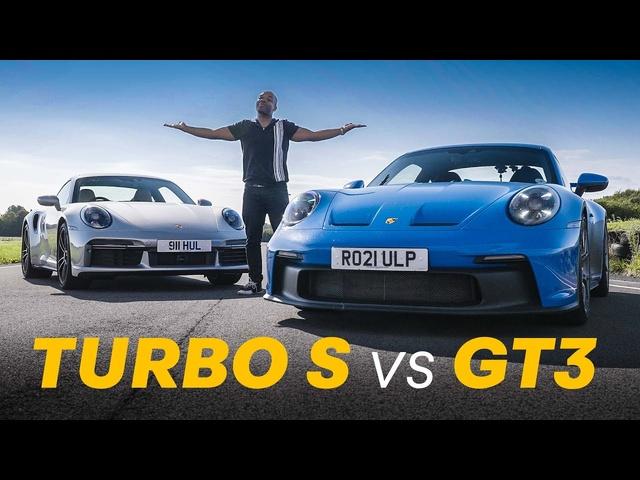NEW Porsche 911 GT3 vs Turbo S: Agility vs Power | 4K