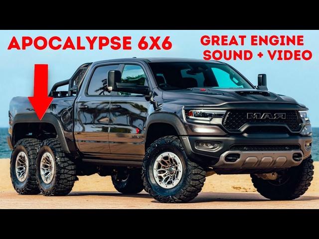 Apocalypse 6x6 Warlord Ram TRX Amazing Engine Sound Accelerating Off Road Pick Up Video Carjam New