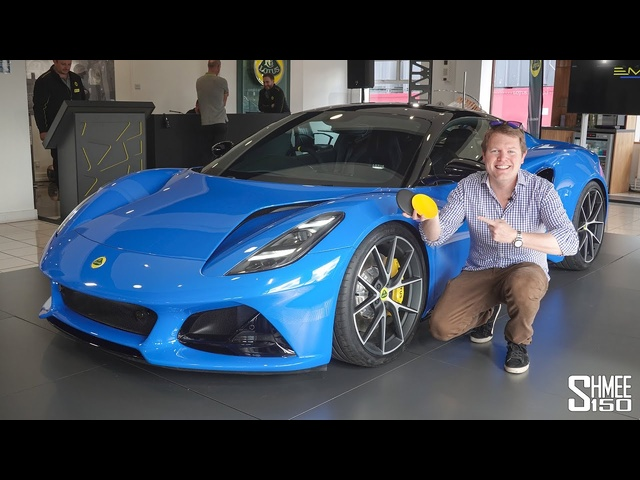 The Spec for My New LOTUS EMIRA First Edition!
