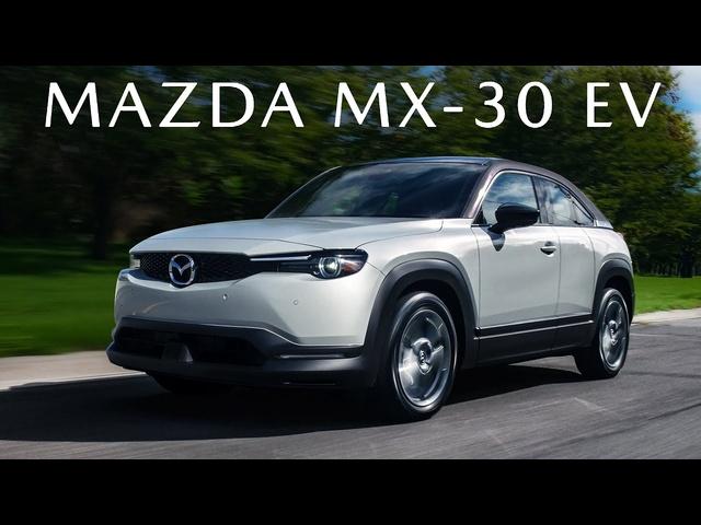 MEDIUM DISTANCE EV! 2022 Mazda MX-30 EV Review