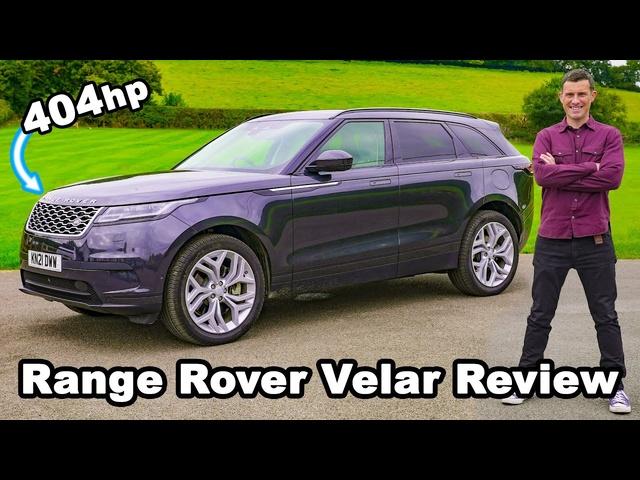 Range Rover Velar review -0-60mph & brake tested!