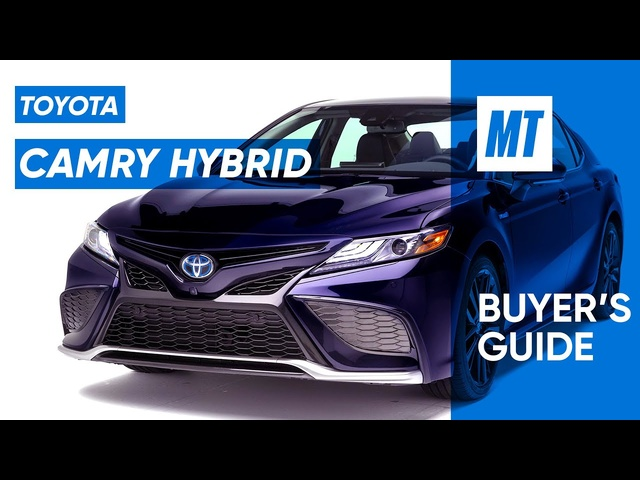 2021 Toyota Camry Hybrid XSE Video REVIEW | Buyer's Guide | MotorTrend
