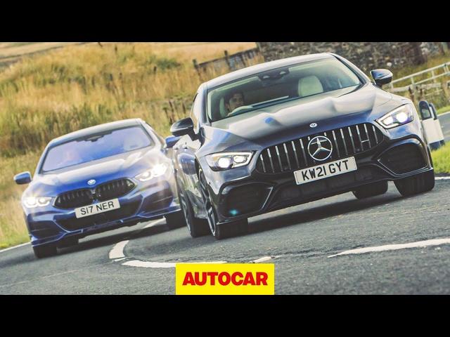 Alpina B8 Gran Coupe vs Mercedes-AMG GT 63 S review | Autocar
