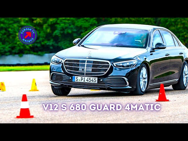 New V12 S680 4MATIC Hammered By World's Calmest Test Driver 1st Mercedes V12 S Class GUARD CARJAM