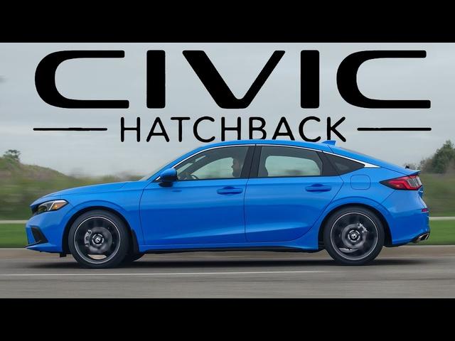 BEST HATCH! 2022 Honda Civic Hatchback Review
