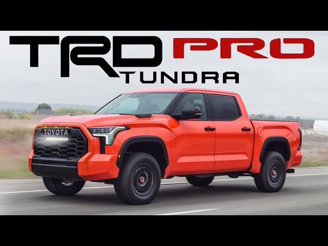 TRUCK OF THE YEAR? PROBABLY! 2022 Toyota Tundra TRD PRO Review