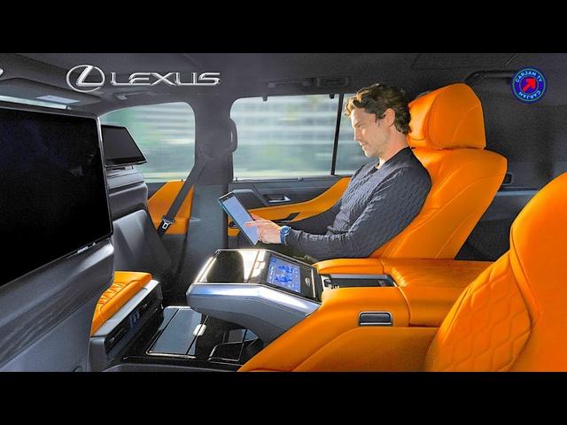 2022 Lexus LX Limo Interior Video new Lexus LX Ultra Luxury Lexus Interior Option CARJAM Reclining