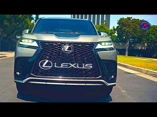 New Lexus LX600 F Sport World Premiere 2022 Lexus LX Driving Video CARJAM New Lexus SUV 4K