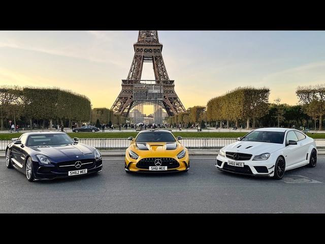 BLACK SERIES TOUR BEGINS! Driving My AMG GT BS to PARIS