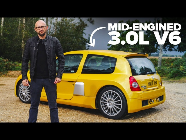 Renault Sport Clio V6 Review: The Most LAIRY Hot Hatch | Carfection 4K