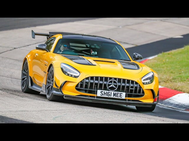 My AMG GT Black Series FLAT OUT at the Nurburgring!