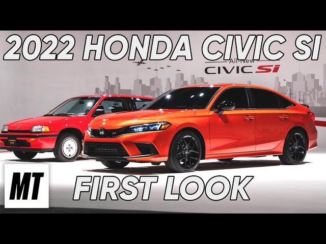 2022 Honda Civic Si: First Look | MotorTrend