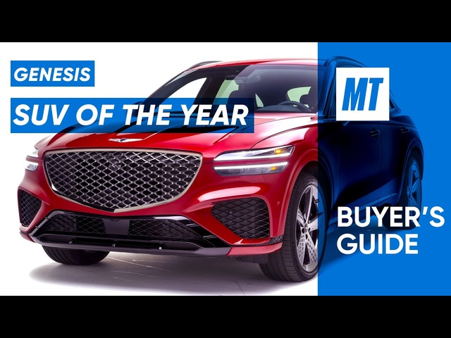SUV of the Year! 2022 Genesis GV70 REVIEW | MotorTrend Buyer's Guide