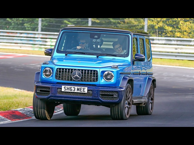 It's aMONSTER! My AMG G63 Flat Out at the Nurburgring