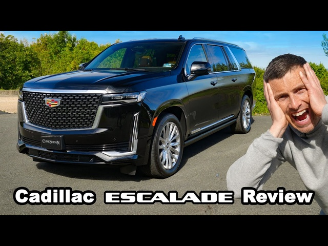 Cadillac Escalade review -0-60mph, 1/4-mile & brake tested!