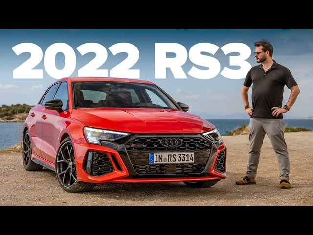 NEW Audi RS3: Road And Track Review | Carfection 4K