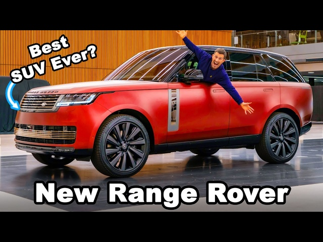 New Range Rover 2022: EXCLUSIVE in-depth review!